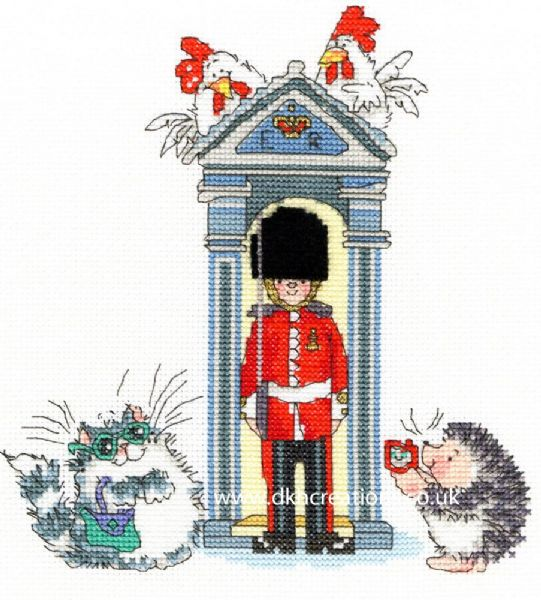 London On Parade  Margaret Sherry Cross Stitch Kit